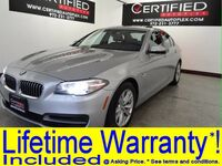 BMW 528i NAVIGATION SUNROOF LEATHER HEATED SEATS PARK ASSIST REAR PARKING AID 2014