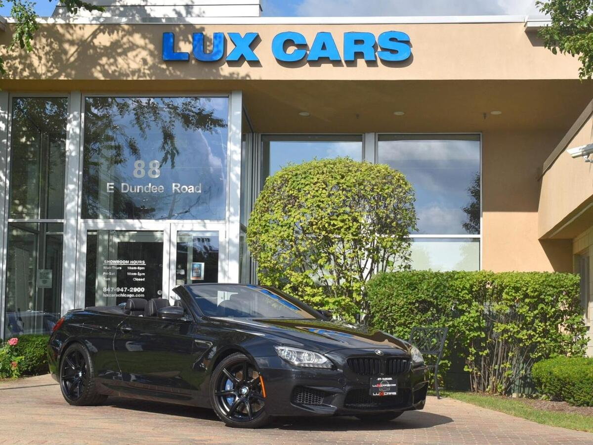 2014_BMW_M6_Convertible Competition Nav Executive MSRP $137,150_ Buffalo Grove IL