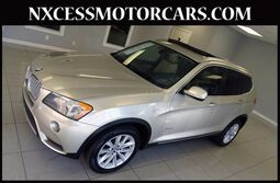 BMW X3 xDrive28i PREMIUM PKG NAVIGATION 1-OWNER. 2014