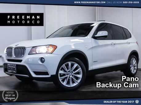 2014_BMW_X3_xDrive28i Pano Backup Cam Htd Seats_ Portland OR