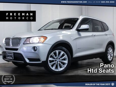 2014_BMW_X3_xDrive28i Pano Htd Seats One Owner_ Portland OR