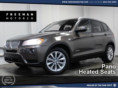 2014_BMW_X3_xDrive28i Pano Htd Sts Comfort Access_ Portland OR