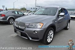 2014_BMW_X3_xDrive35i AWD / Front & Rear Heated Leather Seats / Heated Steering Wheel / Panoramic Sunroof / Bluetooth / Back Up Camera / Keyless Entry & Start / Power Liftgate / 26 MPG_ Anchorage AK