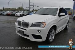 2014_BMW_X3_xDrive35i AWD / M-Sport Pkg / Drivers Assist Plus Pkg / Front & Rear Heated Leather Seats / Heated Steering Wheel / Panoramic Sunroof / Navigation / Heads Up Display / Bluetooth / Back Up Camera / 26 MPG / Only 28k Miles_ Anchorage AK