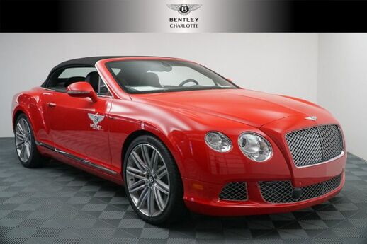 2014 Bentley Continental GT Speed 2DR CONV Hickory NC