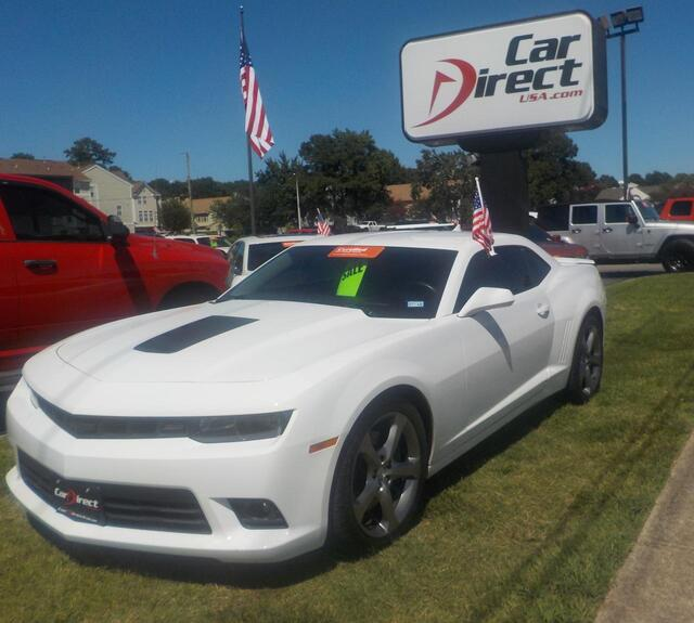 2014 Chevrolet Camaro Ss 2 Door Coupe 62l V8 One Owner Certified