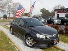 2014_CHEVROLET_CRUZE_LT TURBO,WARRANTY, KEYLESS ENTRY, CRUISE CONTROL, THEFT RECOVERY, AUX PORT, POWER WINDOWS,LOW MILES!_ Norfolk VA