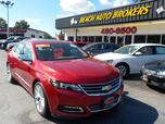 2014 CHEVROLET IMPALA LTZ, CERTIFIED W/ WARRANTY, NAVIGATION, PANO ROOF, BOSE, CLIMATE SEATS, ONE OWNER, LOADED!!!