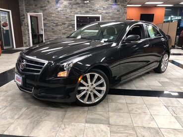 2014_Cadillac_ATS_Luxury AWD_ Worcester MA