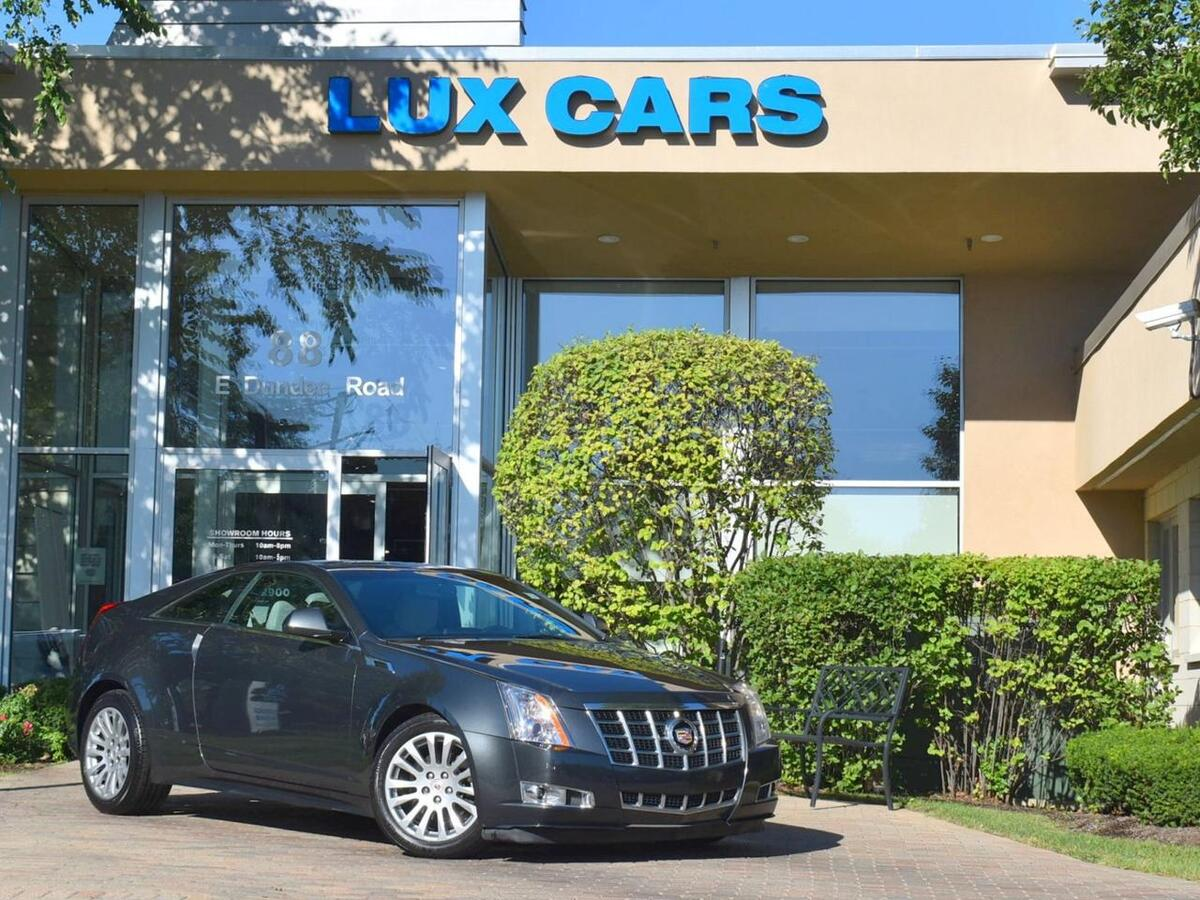 2014_Cadillac_CTS Coupe_Performance Sunroof Nav AWD MSRP $49,580_ Buffalo Grove IL