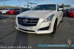 2014_Cadillac_CTS Sedan_Luxury / Auto Start / Heated & Cooled Leather Seats / Heated Steering Wheel / Driver's Alert Pkg / Bose Speakers / Navigation / Bluetooth / Back Up Camera / 30 MPG_ Anchorage AK