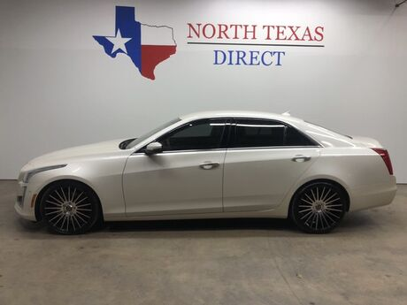 2014 Cadillac CTS Sedan V Sport Twin Turbo Cue Touch Screen Heated/AC Leather Mansfield TX