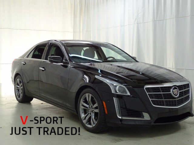 Cadillac CTS Sedan Vsport RWD Raleigh NC - Cadillac dealer raleigh nc