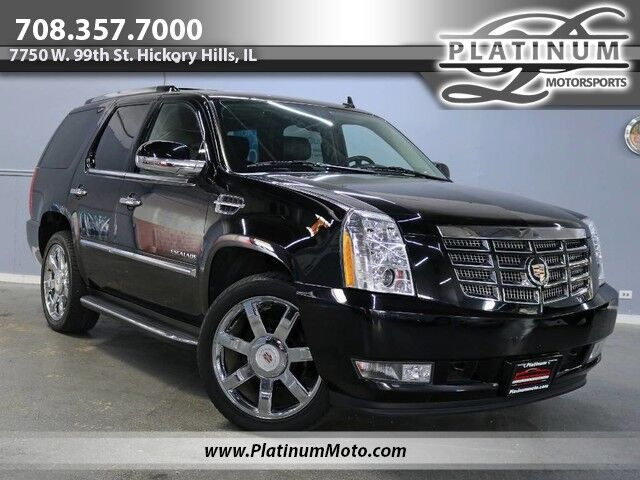 2014 Cadillac Escalade 2 Owner Roof Buckets Seats Rear Entertainment Loaded Hickory Hills IL