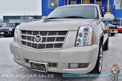2014_Cadillac_Escalade_Premium / AWD / 6.2L V8 / Heated Leather Seats & Steering Wheel / Navigation / Sunroof / Auto Start / Bose Speakers / Rear DVD / 3rd Row / Seats 7 / Bluetooth / Back-Up Camera / Tow Pkg / 1-Owner_ Anchorage AK