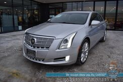 2014_Cadillac_XTS_Platinum / AWD / Driver's Assist Pkg / Auto Start / Heated Leather Seats & Steering Wheel / Heads Up Display / Bose Speakers / Sunroof / Navigation / Lane Departure & Blind Spot Alert / Adaptive Cruise / 1-Owner_ Anchorage AK
