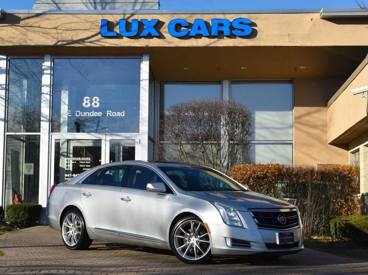 2014_Cadillac_XTS_V-Sport Premium Panoroof Nav AWD MSRP $64,485_ Buffalo Grove IL