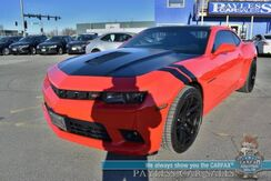 2014_Chevrolet_Camaro_SS / RS Pkg / 6-Spd Manual / Leather Seats / Boston Premium Audio / HUD / Bluetooth / Back Up Camera / BREMBO Brakes / K&N Air Intake / Low Miles_ Anchorage AK
