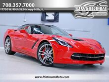 2014_Chevrolet_Corvette Stingray Z51_2 Owner Leather Targa Nav Back Up Chromes Loaded_ Hickory Hills IL