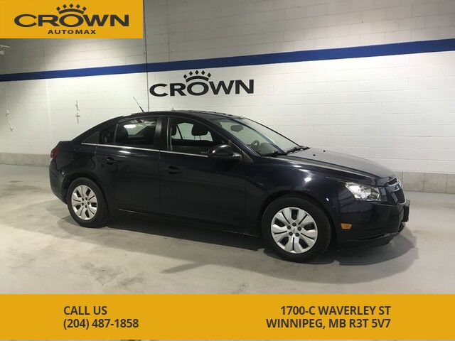 2014 Chevrolet Cruze 1lt Local Manitoba Trade Remote
