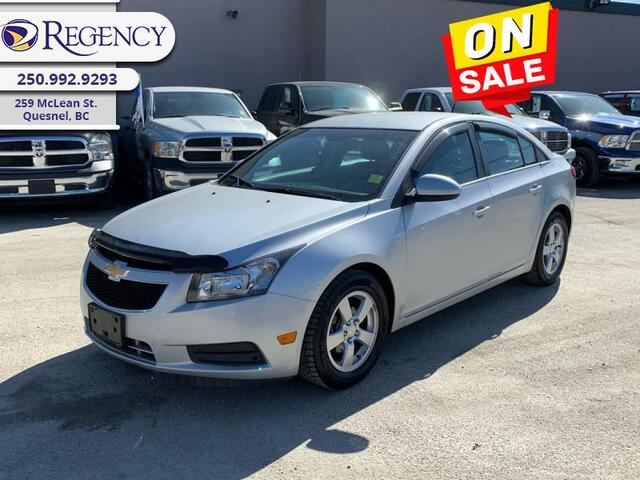 2014 Chevrolet Cruze 2LT  - Leather Seats -  Bluetooth Quesnel BC