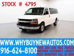 2014 Chevrolet Express 2500 LT ~ Luxury Captains Chair Package ~ Only 63K Miles!