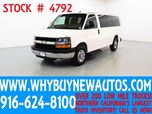 2014 Chevrolet Express 2500 LT ~ Luxury Captains Chair Package