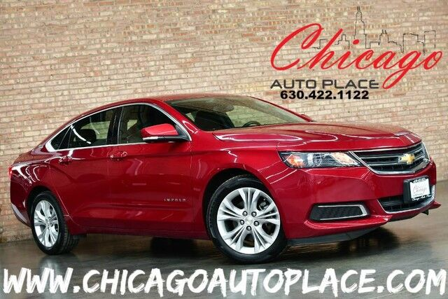 2014 Chevrolet Impala LT - 3.6L V6 ENGINE FRONT WHEEL DRIVE BLACK LEATHER/CLOTH WOOD GRAIN INTERIOR TRIM DUAL ZONE CLIMATE Bensenville IL