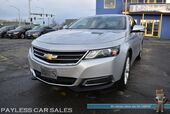 2014 Chevrolet Impala LT / Advanced Safety Pkg / Auto Start / Power Leather Trimmed Seats / Panoramic Sunroof / Bluetooth / Back Up Camera / Blind Spot & Lane Departure Alert / Collision Alert / Rear Parking Sensors / 1-Owner