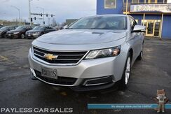 2014_Chevrolet_Impala_LT / Advanced Safety Pkg / Auto Start / Power Leather Trimmed Seats / Panoramic Sunroof / Bluetooth / Back Up Camera / Blind Spot & Lane Departure Alert / Collision Alert / Rear Parking Sensors / 1-Owner_ Anchorage AK