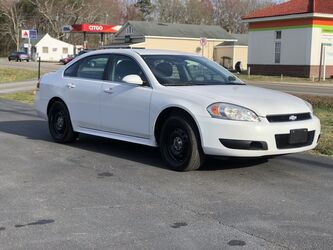 Chevrolet Impala Limited Police (fleet-only) Police 2014