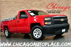 2014_Chevrolet_Silverado 1500_4WD - 4.3L FLEX-FUEL ECOTEC V6 ENGINE 1 OWNER 4 WHEEL DRIVE GRAY CLOTH INTERIOR DIAMOND PLATE TRIPLE WORK-BOX WORK READY ALLOY WHEELS_ Bensenville IL
