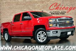2014_Chevrolet_Silverado 1500_CREW CAB LT - 5.3L FLEX-FUEL ECOTEC V8 ENGINE 4 WHEEL DRIVE ONSTAR NAVI BACKUP CAMERA BLUETOOTH BLACK CLOTH INTERIOR_ Bensenville IL