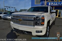 2014_Chevrolet_Silverado 1500_High Country / 4X4 / Crew Cab / Heated & Cooled Leather Seats / Heated Steering Wheel / Sunroof / Navigation / Bose Speakers / Driver's Assist Pkg / Auto Start / Bluetooth / Back Up Camera / Bed Liner / Tow Pkg_ Anchorage AK