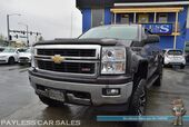 2014 Chevrolet Silverado 1500 LT / Z71 Off-Road Pkg / 4X4 / Crew Cab / Lifted / Auto Start / Heated Seats / Seats 6 / Bluetooth / Back Up Camera / Fuel 20in Rims / 35in Toyo Open Countrys / Bed Liner / Tow Pkg