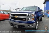 2014 Chevrolet Silverado 1500 LT / Z71 Pkg Off Road / 4X4 / 5.3L V8 / Crew Cab / Auto Start / Power Driver's Seat / Seats 6 / Bluetooth / Back Up camera / Bed Liner / Tow Pkg