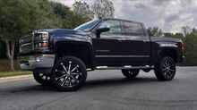 2014_Chevrolet_Silverado 1500_LTZ 4X4 - NAV - LEATHER - CAMERA - LIFTED_ Charlotte NC