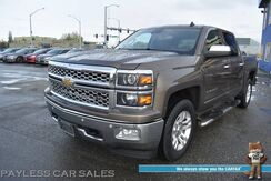 2014_Chevrolet_Silverado 1500_LTZ / 4X4 / 5.3L V8 / Crew Cab / Auto Start / Heated & Cooled Leather Seats / Heated Steering Wheel / Navigation / Bose Speakers / Lane Departure & Blind Spot Alert / Bluetooth / Back Up Camera / Bed Liner / Tow Pkg_ Anchorage AK