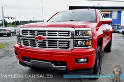 2014_Chevrolet_Silverado 1500_LTZ / Z71 Off-Rd Pkg / 4X4 / Crew Cab / Heated Leather Seats & Steering Wheel / Navigation / Sunroof / AutoStart / Bose Speakers / Bluetooth / Back-Up Camera / Light Bar / Tow Pkg / 1-Owner_ Anchorage AK