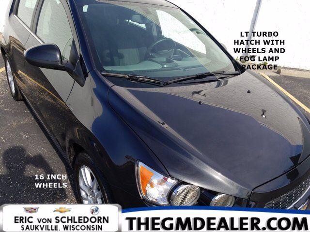 2014 Chevrolet Sonic LT HB Turbo Wheels&FogLampPkg w/16s MyLink RearCamera Milwaukee WI