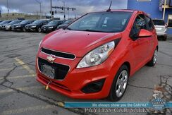 2014_Chevrolet_Spark_LS / Automatic / Auto Start / Sunroof / Block Heater / JVC Deck / 39 MPG_ Anchorage AK