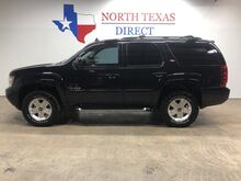 2014_Chevrolet_Tahoe_Z-71 4x4 LT3 Leather Sunroof Rear Entertainment 3rd Row seats_ Mansfield TX