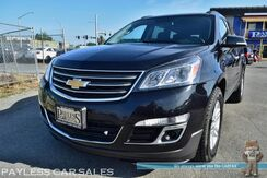 2014_Chevrolet_Traverse_LT / AWD / Auto Start / Power & Heated Seats / Bose Speakers / Rear Captain Chairs / 3rd Row / Seats 7 / Bluetooth / Back Up Camera / 23 MPG_ Anchorage AK
