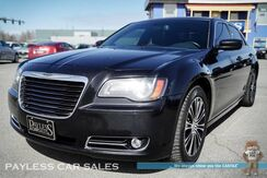 2014_Chrysler_300_S / AWD / 5.7L HEMI V8 / Front & Rear Heated Leather Seats / Heated Steering Wheel / Navigation / Auto Start / Beats Audio / Sunroof / Bluetooth / Back Up Camera / 27 MPG_ Anchorage AK