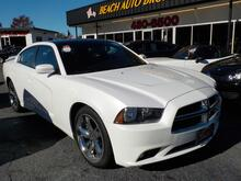 2014_DODGE_CHARGER_SXT BLACKTOP EDITION, WARRANTY, NAV, BACKUP CAM, REMOTE START, PARKING SENSORS, KEYLESS START, A/C!_ Norfolk VA