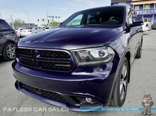 2014_Dodge_Durango_R/T / AWD / 5.7L V8 HEMI / Heated & Ventilated Leather Seats / Heated Steering Wheel / Tech Pkg / Navigation / Sunroof / Auto Start / Alpine Speakers / 3rd Row / Seats 6 / Bluetooth / Back Up Camera / Tow Pkg_ Anchorage AK