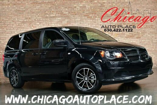 2014 Dodge Grand Caravan SE 30th Anniversary - 1 OWNER CLEAN CARFAX 3.6L V6 ENGINE BLACK CLOTH INTERIOR 3RD ROW SEATS BLUETOOTH Bensenville IL