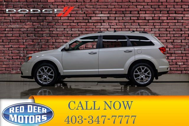 2014 Dodge Journey AWD R/T Leather Roof DVD Red Deer AB