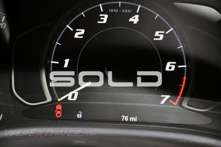 2014 Dodge SRT Viper  Tomball TX