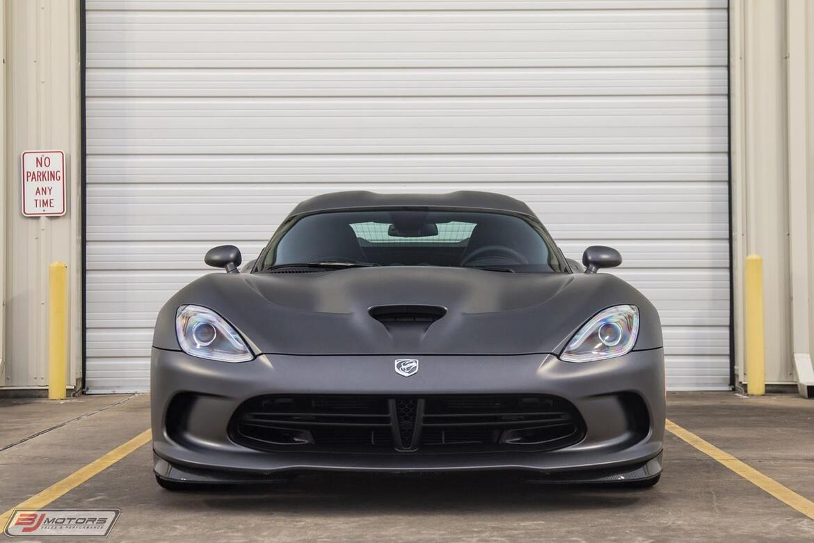 2014 Dodge SRT Viper GTS Anodized Carbon TA Tomball TX